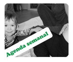 Agenda semanal: 25 – 29 denoviembre