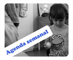 Agenda semanal de babàlia 09-13 dediciembre