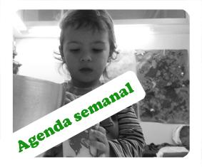 Agenda semanal de babàlia 16- 20 dediciembre