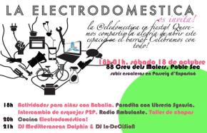 LA ELECTRODOMÉSTICA, nuevo espacio en elbarrio