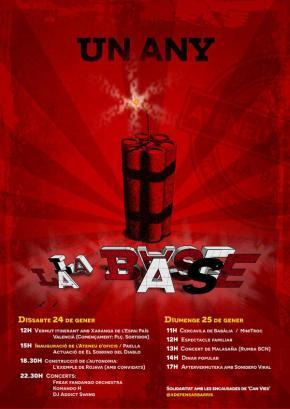 Aniversari de La Base: Fem un Any i#LaBasecreix