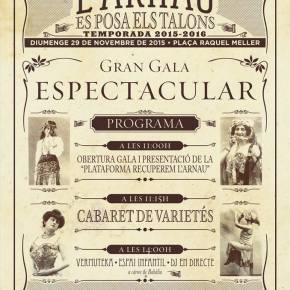 Vermuteka de Gala al Teatre Arnau29/11/15
